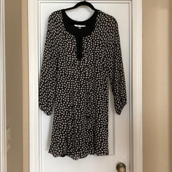 Max Studio Dresses & Skirts - Heart Print Swing Dress
